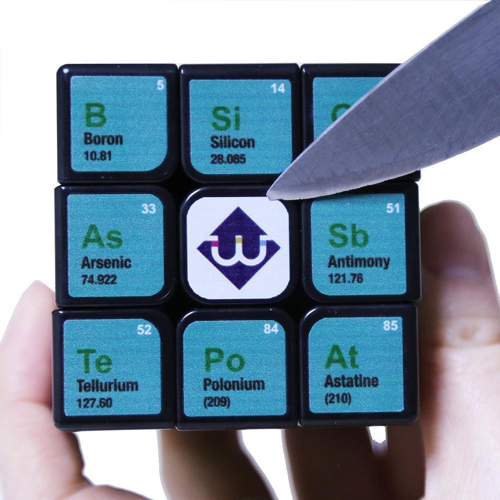 Chemistry Cube Element Periodic Table 3rd-order - Shop@Peterpan Store