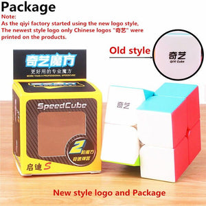 Toy For Kid MAGIC SPEED CUBE POCKET STICKERless PUZZLE PROFESSIONAL 2x2 SPEED - Shop@Peterpan Store