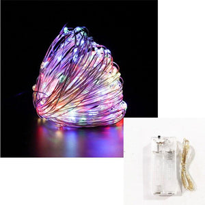 Home Decoration Copper Wire LED Wedding Decoration Fairy for Party Decoration String Light - Shop@Peterpan Store