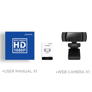 Web Camera Video Conference 1080P Full HD Autofocus With Noise Reduction Mic USB - Shop@Peterpan Store
