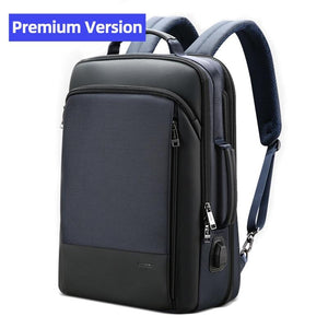 Men Backpack Expandable Weekend Travel Back Pack Male Waterproof 15.6 Inch - Shop@Peterpan Store