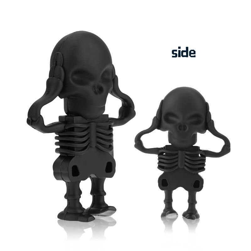Cool Skull Skeleton headshot Grim Reaper USB Flash drive Real U disk - Shop@Peterpan Store