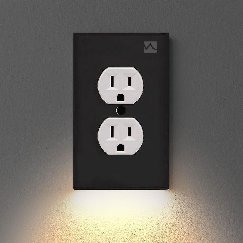 Wall Plate With LED Night Lights - Shop@Peterpan Store