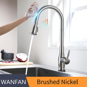 Touch control kitchen faucet with sensor - Shop@Peterpan Store