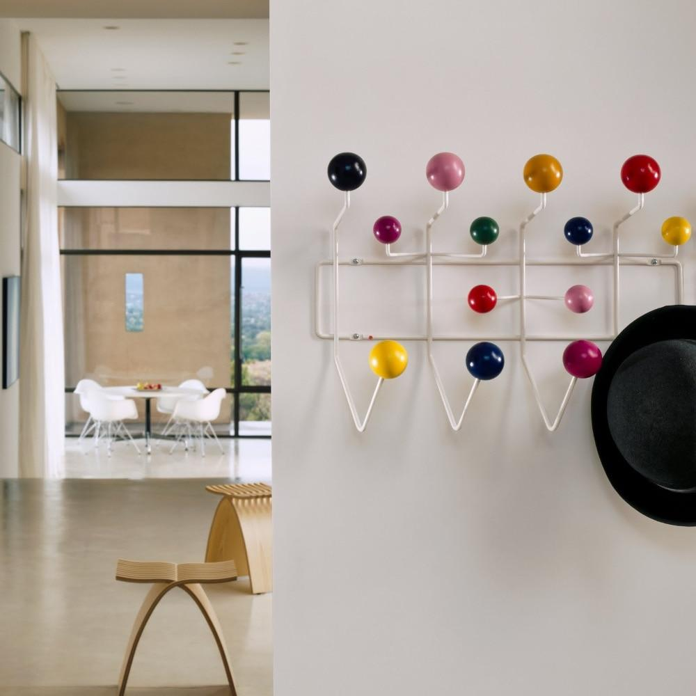 Multicolor Ball Rack Milti-purpose Hook For Wall Ornaments Metal Bag Decor.