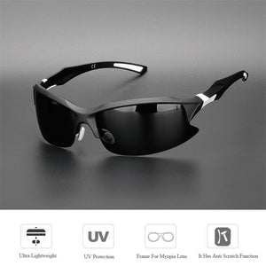 Polarized Cycling Glasses Bike Bicycle Driving Fishing Outdoor Sports Sunglasses UV 400 - Shop@Peterpan Store