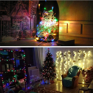 Christmas Lights Led String Fairy For Wedding Party Holiday Lights - Shop@Peterpan Store