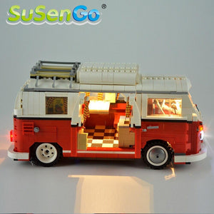 Toy For Kid Buliding Blocks LED Light Kit Creator Camper Van Lighting Set Compatible Kit - Shop@Peterpan Store