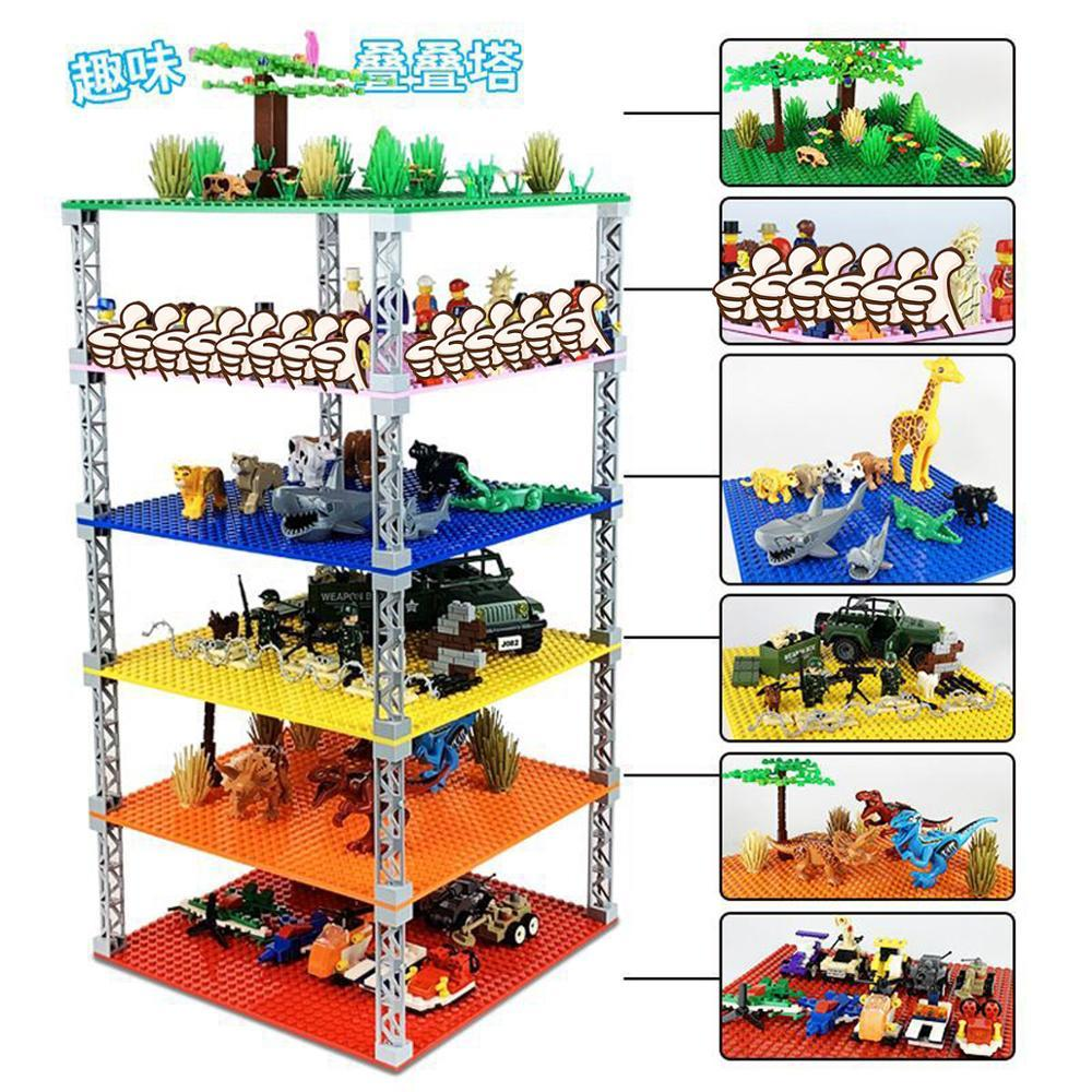 Building Blocks Construction Toys 32*32 Double-sided Base Plates Plastic Small Bricks - Shop@Peterpan Store