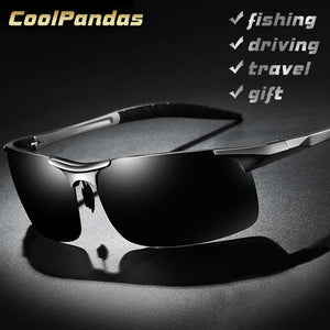 Aluminum Magnesium Men Polarized Sport Sunglasses Aviation HD Driving Sun Glasses - Shop@Peterpan Store