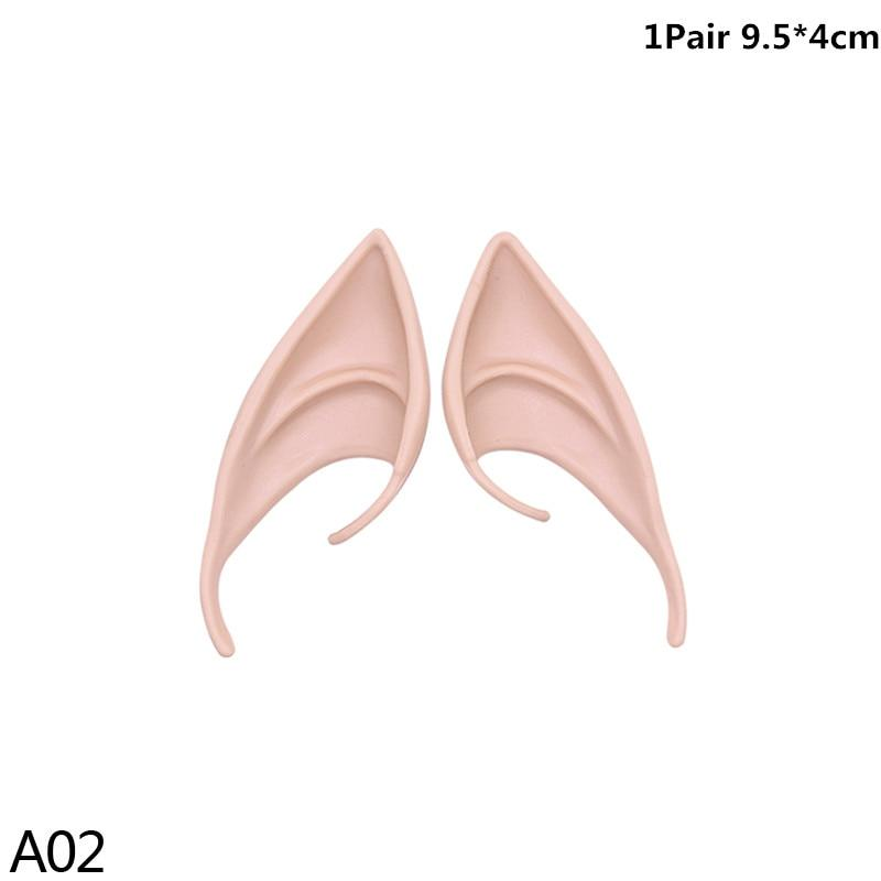 Christmas Angel Dress Up Elf Ears Fairy Cosplay Halloween Festive Party Latex Soft Harmless - Shop@Peterpan Store