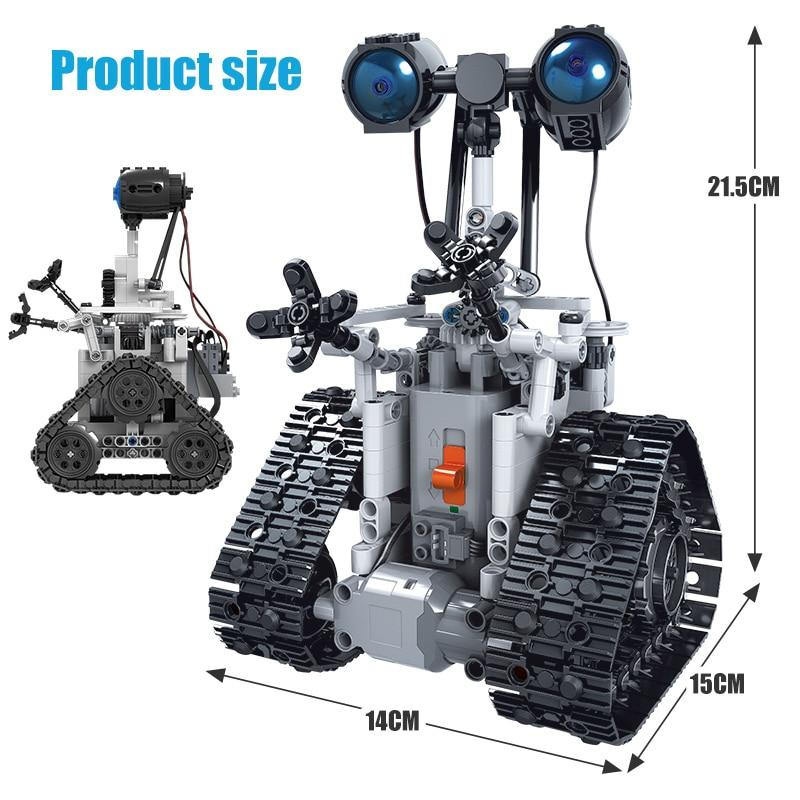 Toy For Kid  City Creative RC Robot Electric Building Blocks Technic Intelligent Robot - Shop@Peterpan Store