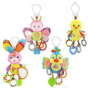 Cute Seat Ringing Stuffed Plush Animals Baby Toy Education - Shop@Peterpan Store