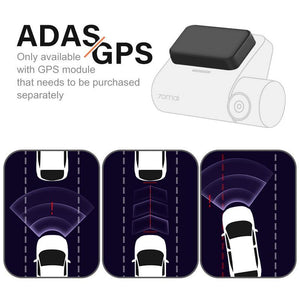 Car GPS Dash Camera Smart Cam Pro 1944P Voice Control Speed Coordinates - Shop@Peterpan Store