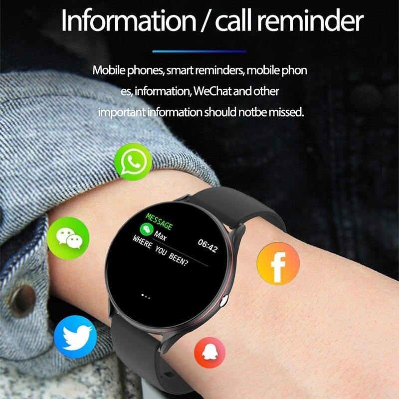 Smart Watch IP68 Waterproof Heart Rate Blood Pressure Monitoring Full Touch Screen - Shop@Peterpan Store