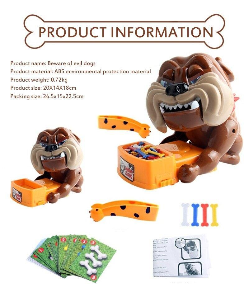 Bad dog board game Toy Evil Dog Parent-child Interaction Juguetes Tricky - Shop@Peterpan Store