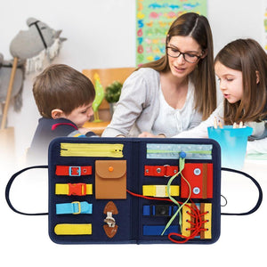 High Quality Montessori Toy Essential Educational Sensory Board For Toddlers Ntelligence Development Educational Toy - Shop@Peterpan Store