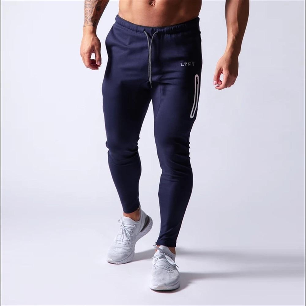 Jogging Pants Men Sport Sweatpants Running Pants Men Joggers Cotton Trackpants Slim Fit - Shop@Peterpan Store