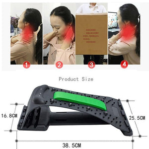 Magic Neck Stretcher Support Relaxation Neck Spine Pain Relief - Shop@Peterpan Store