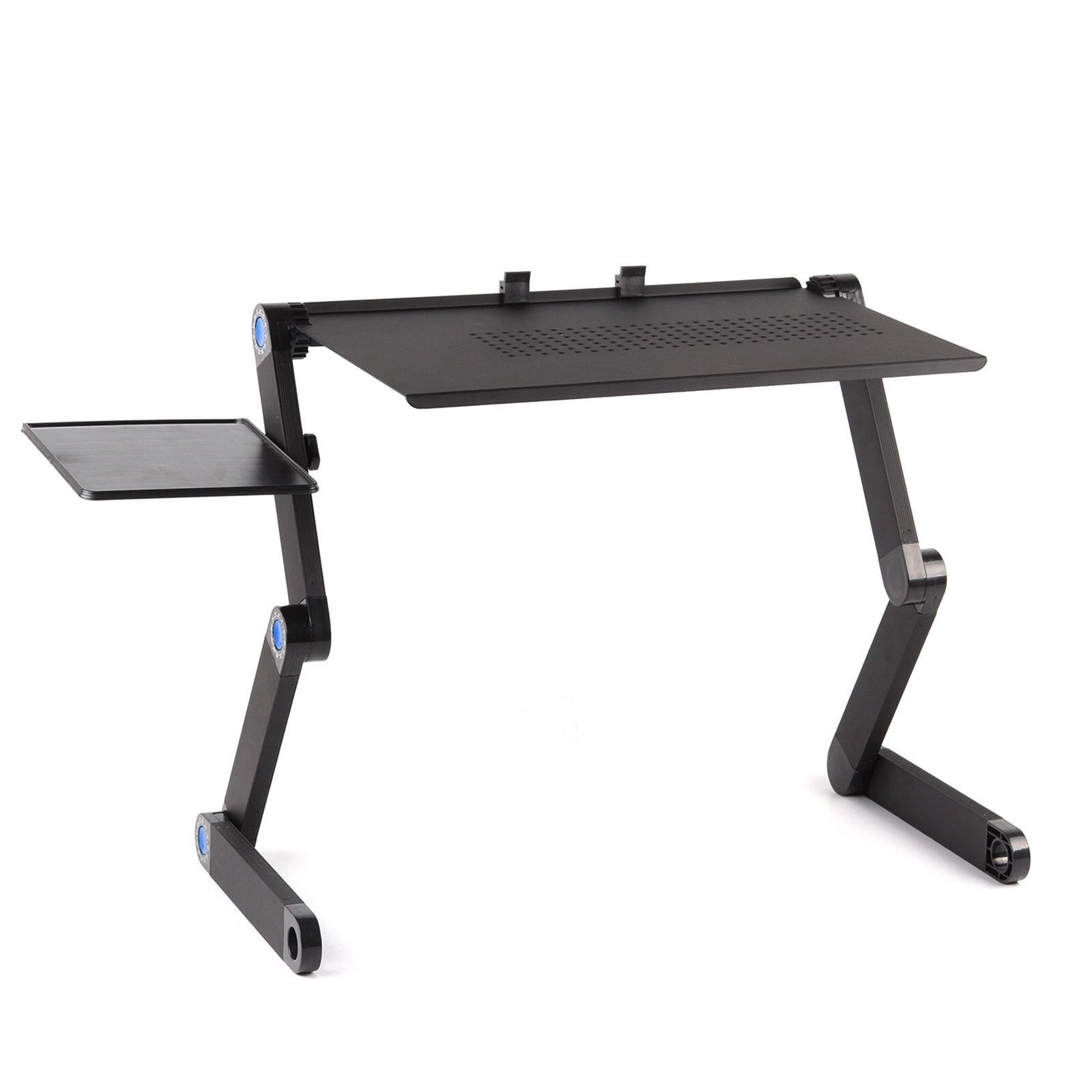 Adjustable Aluminum Laptop Desk Computer Desk Portable TV Bed Lapdesk Table Stand - Shop@Peterpan Store