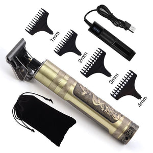 Hair Clipper Electric hair trimmer Cordless Shaver Trimmer Men Barber Cutting Machine - Shop@Peterpan Store