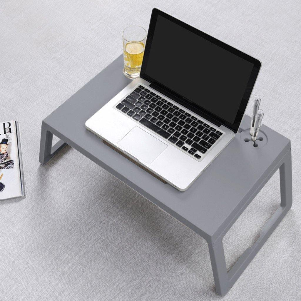 Lazy Laptop Table With Drawer, Cup Holder And Pen Holder, Breakfast Table