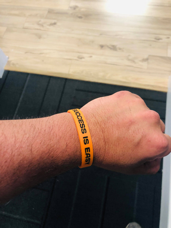 Success Is Easy | Trust The Process Wristband