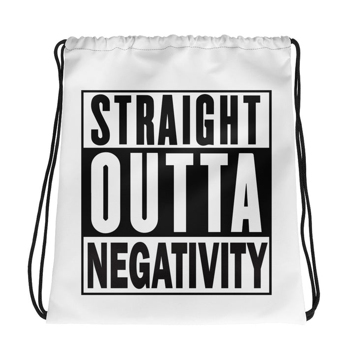 Straight Outta Drawstring bag