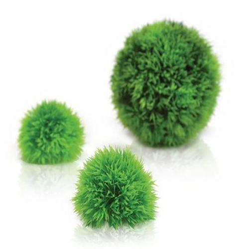 biOrb Aquatic topiary ball set 3 green-biOrb plante bolde sæt á 3 stk. grøn. Dimensioner (LxBxH i mm) 130x130x130. 46060