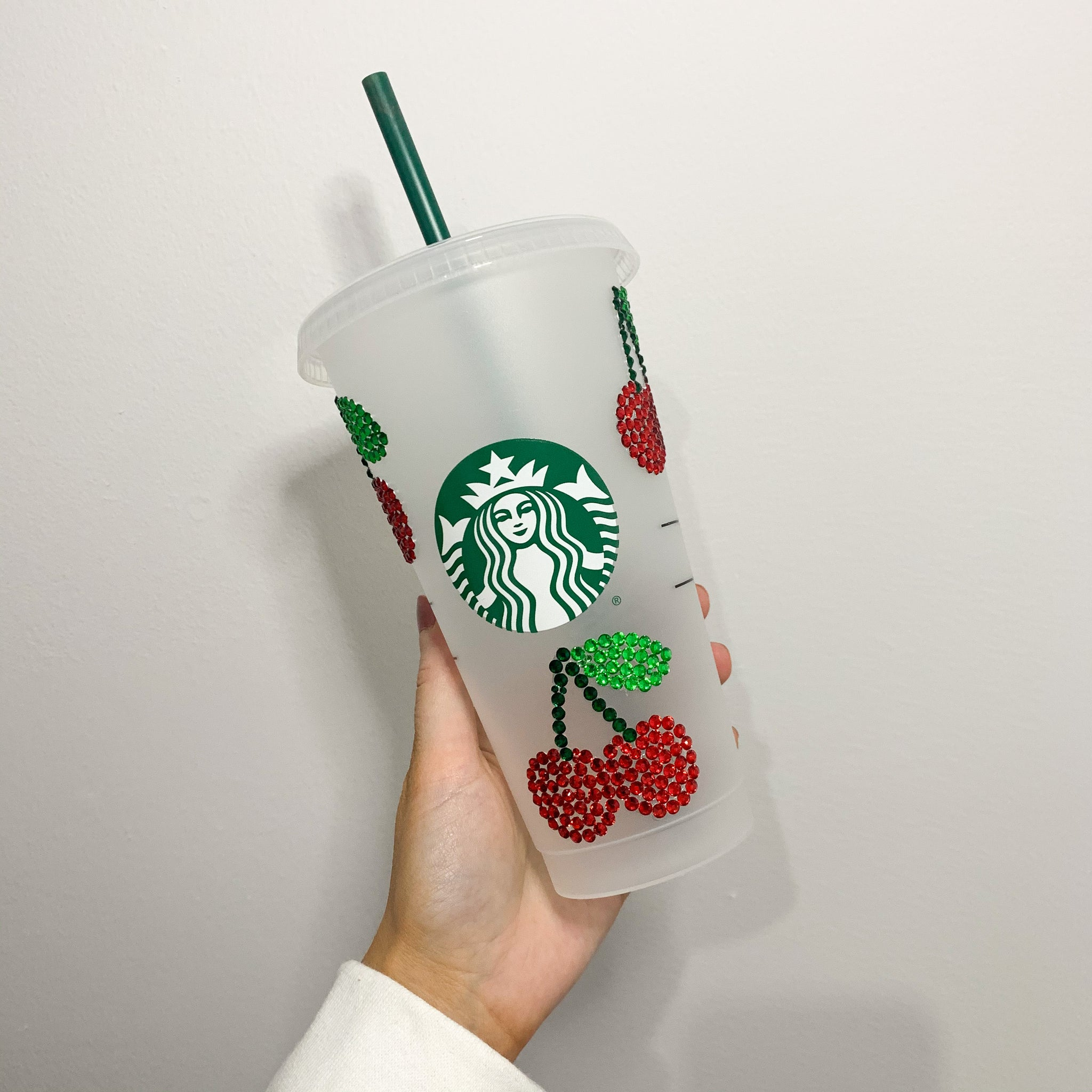 Juicy Rhinestone Starbucks Tumbler