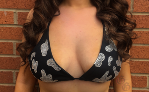 Moody Cow Bra Top