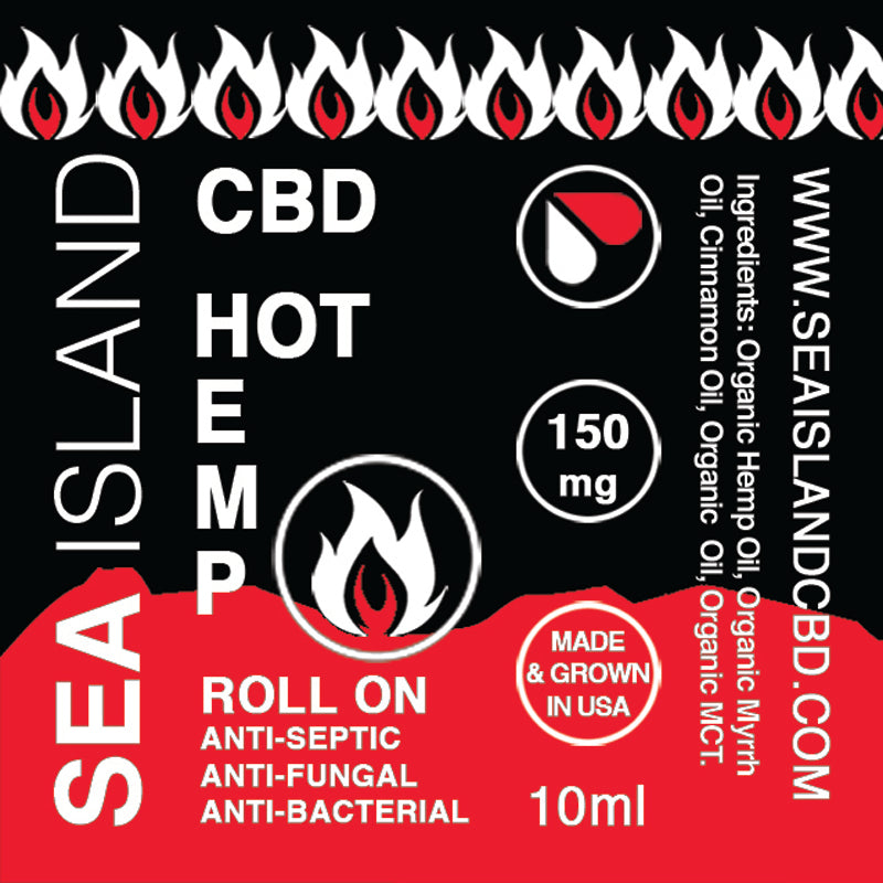 HOT HEMP ROLL ON 150mg
