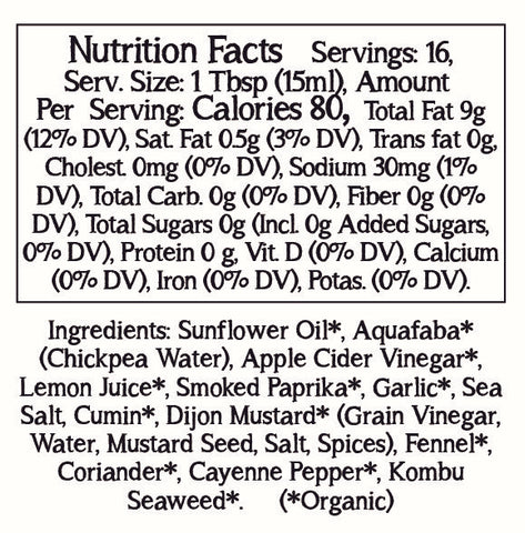 Smoked Spices Nutrition Facts and Ingredients