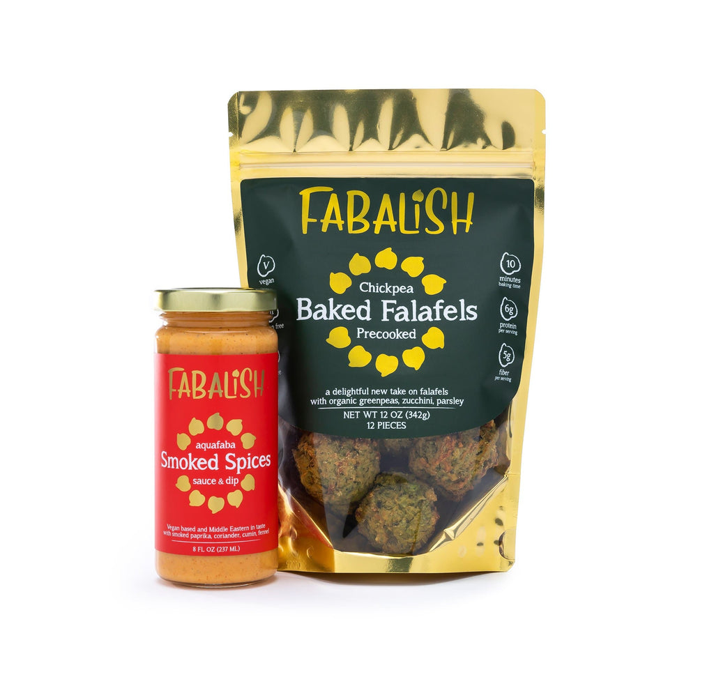 2 Smoked Spices & 4 Falafel Bags - Free Shipping Package