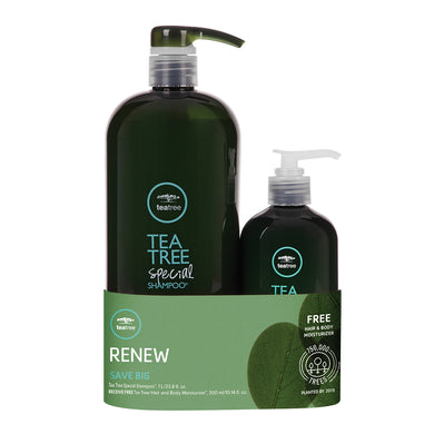 TEA TREE - Special Shampoo & Hair/Body Moisturizer Duo - Hypnotic Store