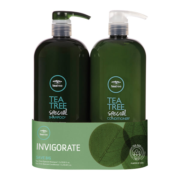 TEA TREE - Special Shampoo & Conditioner Liter Duo - Hypnotic Store