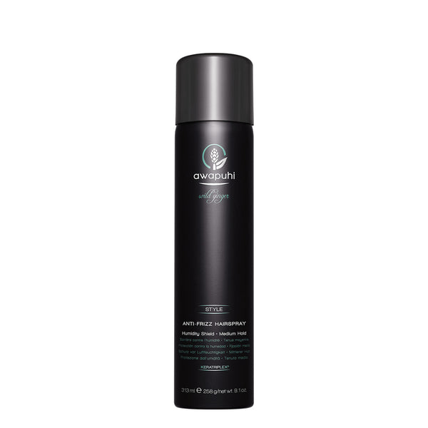 AWAPUHI WILD GINGER - Anti-Frizz Hairspray - Hypnotic Store