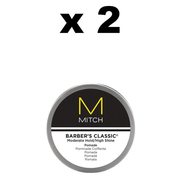 MITCH - Barber's Classic Pomade DUO - Hypnotic Store