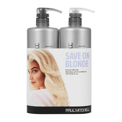 FOREVER BLONDE - Shampoo & Conditioner Liter Duo - Hypnotic Store