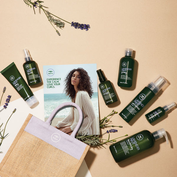 TEA TREE - Lavender Mint Curls Collection Set