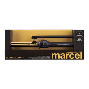 "PRO TOOLS - Express Gold Curl Marcel 1"" Curling Iron"