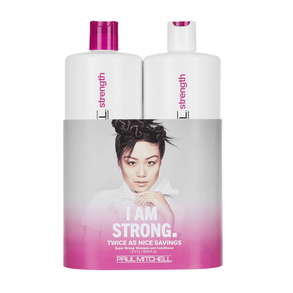 SUPER STRONG - Shampoo & Conditioner Liter Duo - Hypnotic Store