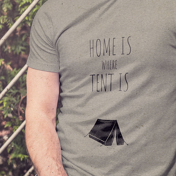 Home is where tent is