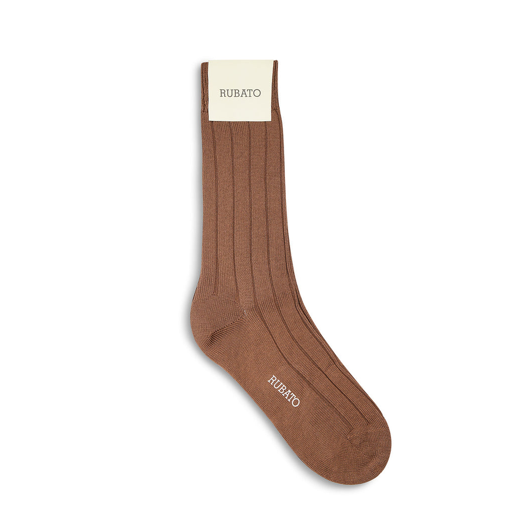 Rubato Cotton Socks - Caramel