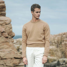 Load image into Gallery viewer, Rubato Pure Camel Crew Neck