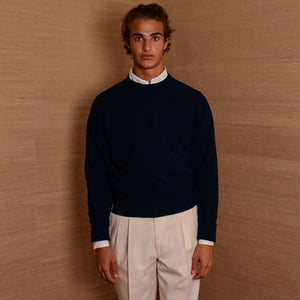 Rubato Standard Crew Neck in Navy