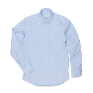 Rubato Button Down Shirt in Light Blue Twill