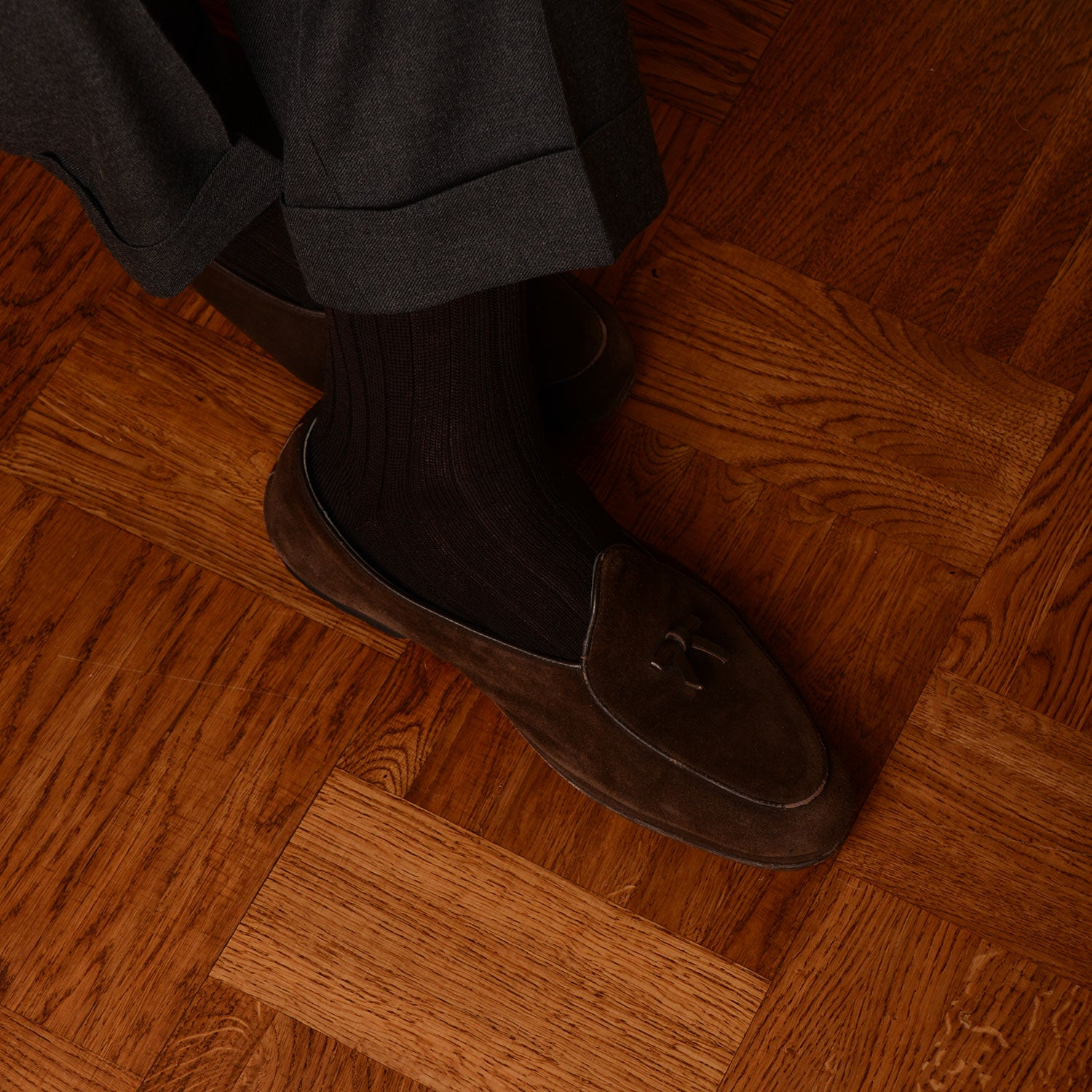Rubato Wool Socks - Coffee