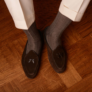 Rubato Wool Socks - Natural