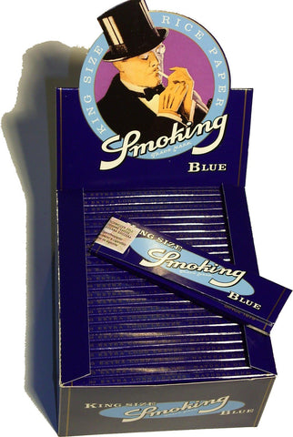 Smoking Blau King Size (50x33)